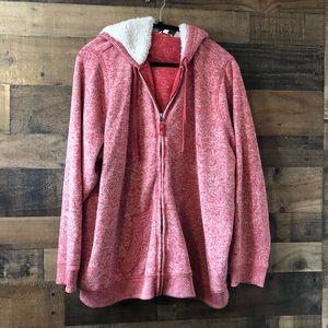 Sonoma Super Soft Zip Jacket w/ Sherpa Hood